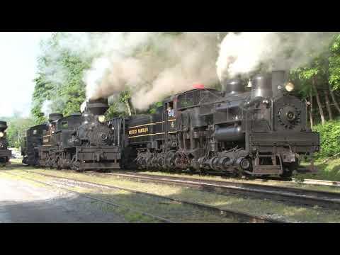 Cass Scenic RR 2012 Railfan Days, Part 1