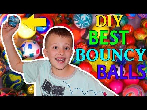 DIY SUPER High Bounce Bouncy Balls!
