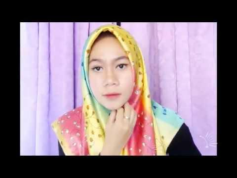 Tutorial Hijab Simple Nan Elegance ala LAUDYA CYNTHIA BELLA  YouTube