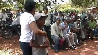 """Asesinato del dirigente campesino Benjamin Lezcano del asentamiento """"Arroyito"""""""