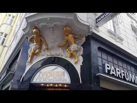 Golden Children Angels statues in a shop in Bonn Germany 02.09.2016