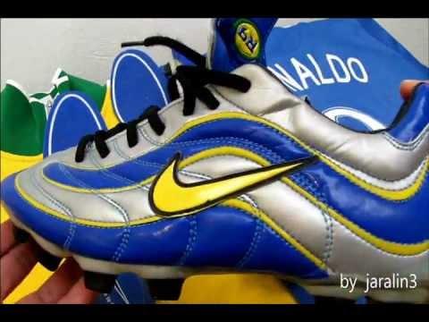72501fa17bf97 NIKE R9 Ronaldo World Cup France 1998 Nike Mercurial Vapor XV ...