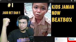 KERENN PARAH !! KIDS JAMAN NOW NGEBEATBOX , KALAH LU SEMUA !   SansReaction
