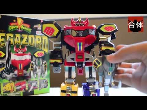 Mighty Morphing Power Rangers Legacy Megazord Review by Collection Gattai