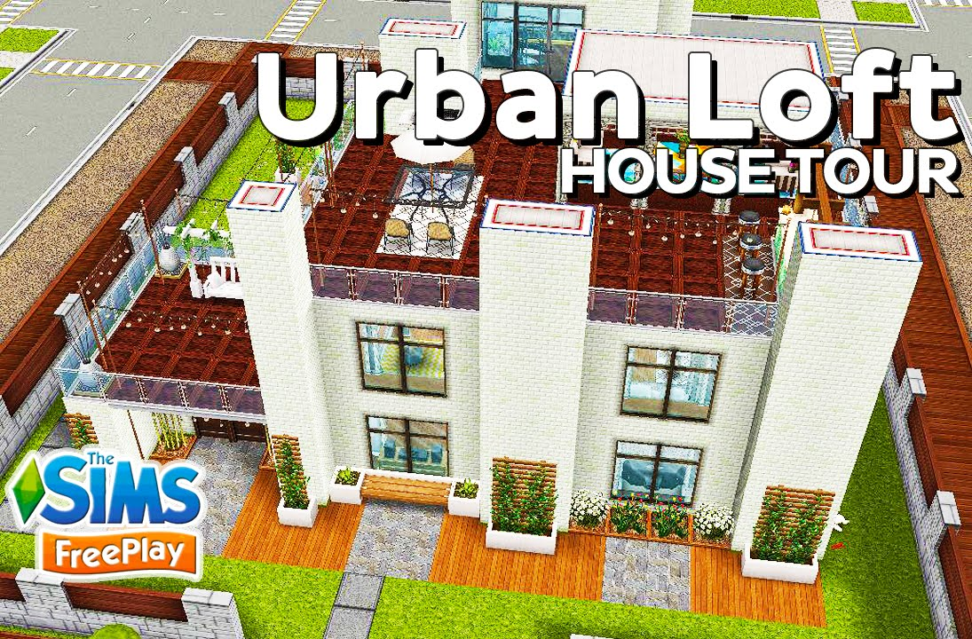 The Sims FreePlay   Urban Loft  Original design    YouTube The Sims FreePlay   Urban Loft  Original design