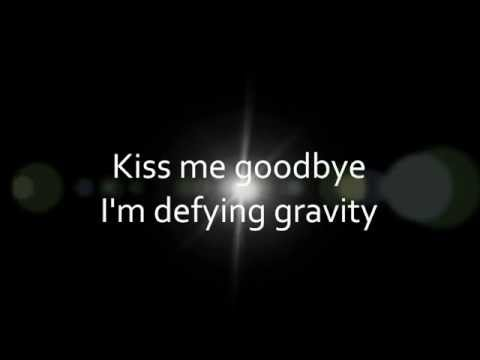 Idina Menzel - Defying Gravity (lyrics on screen)