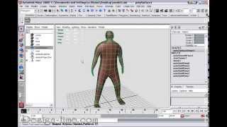 Анимация для начинающих в Autodesk Maya