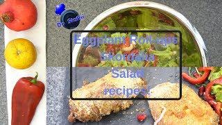 Cheesy Eggplant Roll-Ups   Skordalia   Salad    #DoStathi #20K3M