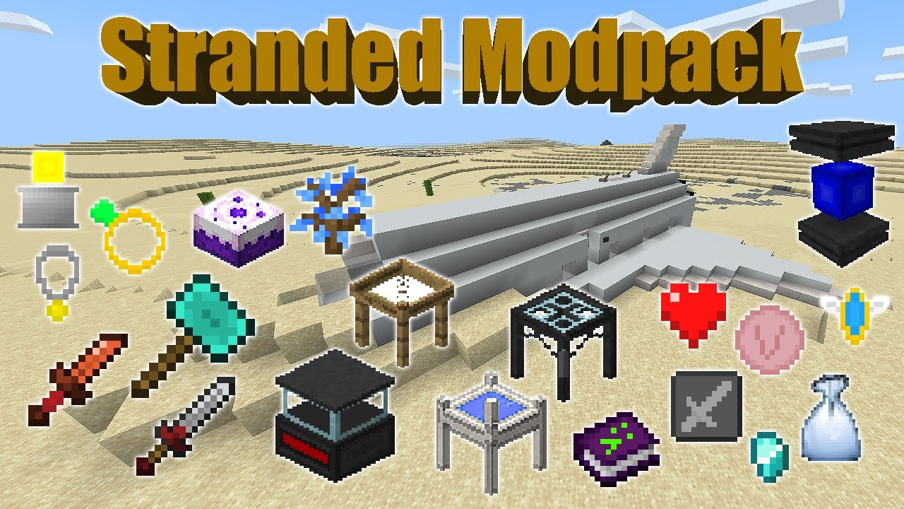 Want to radically change … Stranded Modpack Minecraft Pe Mods Addons