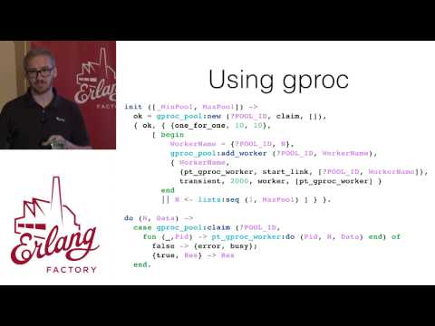 Erlang Factory SF 2015 - Anthony Molinaro - How to pick a Pool in Erlang without Drowning