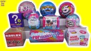 Surprises TOYS Unbox LOL Glam Glitter NUM NOMS 4 5 Surprise Roblox Moj Moj Min Dolls