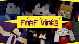 FNaF Characters As Vines!   Minecraft Animated Compilation   #vine #fnafvines #fnafanimation
