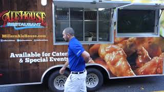 Miller's Ale House Custom Trailer Built By Prestige Food Trucks