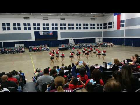 Los Fresnos High School Stars Team Pom at ADTS Competition 2018