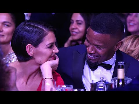 download Katie Holmes and Jamie Foxx Look Smitten in Rare Public Appearance Ahead of GRAMMYs