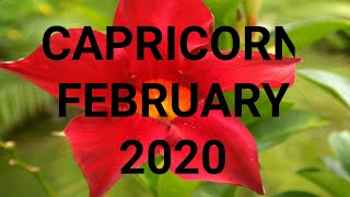 Capricorn Tarot February 2020 👑💲YOUR PROSPERITY FLOWS! 🔮Love & Money Clairvoyant Psychic Reading🌞