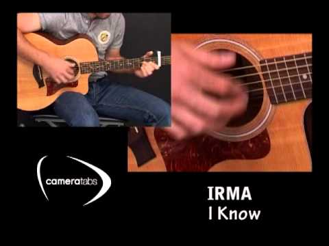 "Cover guitare acoustique ""I Know"" de Irma - YouTube"