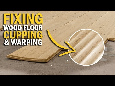 Wood Floor Cupping Causes & Fixing