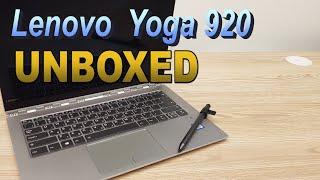 Lenovo Yoga 920 UNBOXED! (4K)