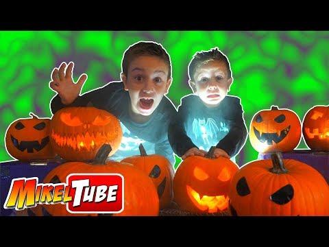 Tallamos una calabaza MAGICA! para Halloween