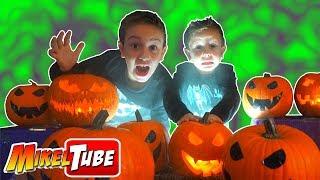 Tallamos una calabaza MAGICA! para Halloween 😱