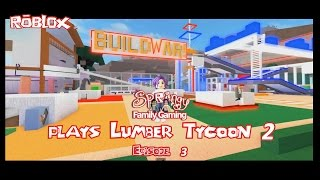 SFG - Roblox - Lumber Tycoon 2 - EP3 Build Wars & Signal Inverters