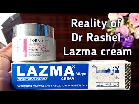 Reality Of Lazma Cream And Dr Rashel Product Whitening Cream