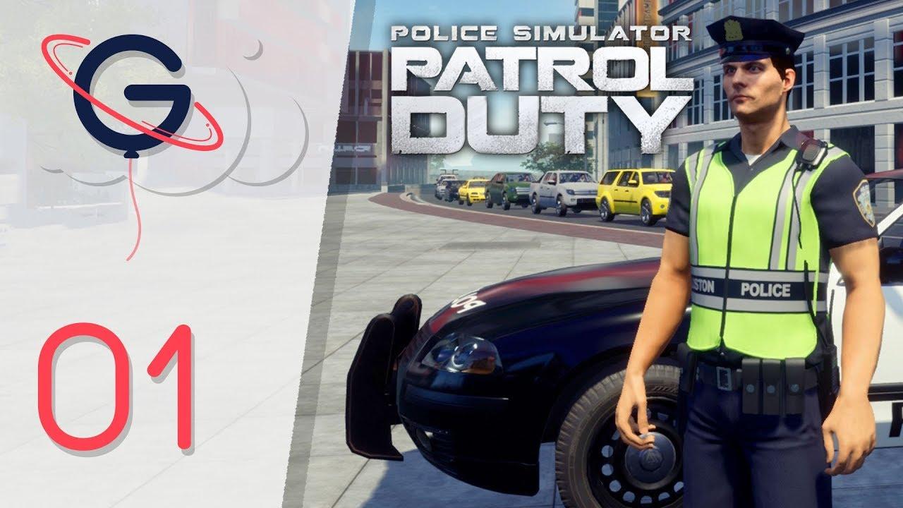 POLICE SIMULATOR PATROL DUTY FR #1 : Première Patrouille !