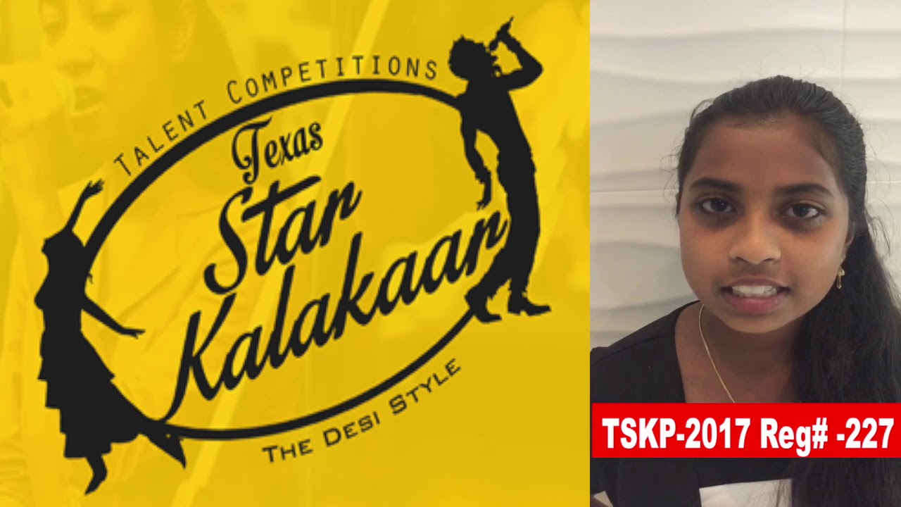 Reg# TSK2017P227 - Texas Star Kalakaar 2017