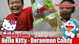 Hello Kitty – Doraemon Candy KINO Unboxing | Permen Anak Anak Kino