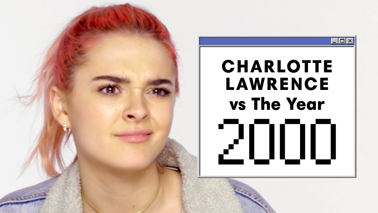 Can Charlotte Lawrence Guess These 2000's Pop Culture Trends? | Vs. The Year | Harper's BAZAAR