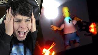 EL INCREÍBLE FINAL DE LOS SIMPSON !! ADIÓS HOMERO... - Eggs For Bart (Simpson Horror Game)