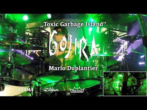 Mario Duplantier - Gojira | Toxic Garbage Island live @ Theaterfabrik München 30/03/17 mp3