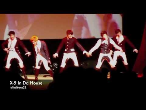X-5 IN DA HOUSE (Tokyo, 23/12/2011)