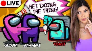 🔴Among Us: Toast, Aphmau, DanTDM, Pokimane, Corpse, LaurenzSide, Smajor (Gloom POV)
