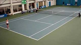 ITF Ladies Singles Semi-Final @ Sunderland Tennis Centre, November 2009