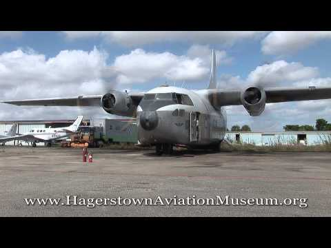 Fairchild C-123 Engine Start and Run Test