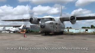 The Hagerstown Aviation Museum's 1956 Fairchild C-123 Provider N681...