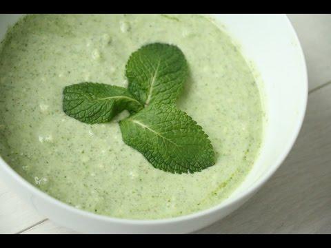 Mint Yogurt Dipping Sauce For Tandoori