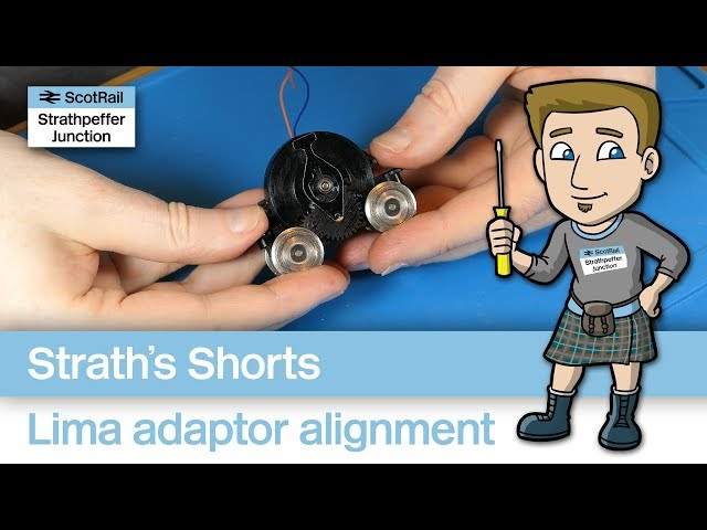 Lima Ringfield Motor Adaptor Kit...a word about alignment!