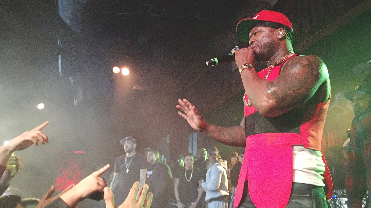 50 Cent Takes Shots at Meek Mill & Irv Gotti at BB King, NYC