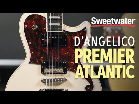 D'Angelico Premier Atlantic Electric Guitar Playthrough