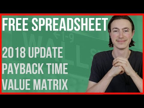UPDATE VERS 2.0! Stock Analysis Spreadsheet 2018 Vers 2.0 + How to Guide