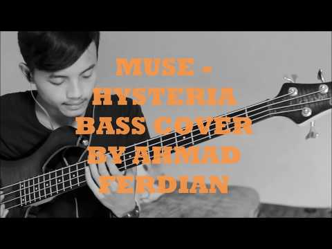 Hysteria - Muse ( Bass Cover )
