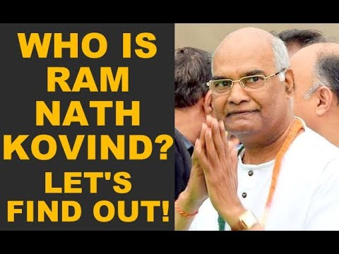 🔴 Who Is RAM NATH KOVIND? Who Is The New PRESIDENT Of INDIA? Let's Find Out!! (MUST WATCH)
