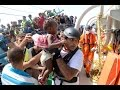 MSF Rescues 800 from Smugglers' Boats in the Mediterranean
