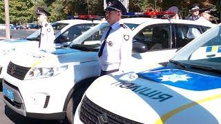 Автопарк поліції дніпропетровщини поповнили 27 нових службових авто