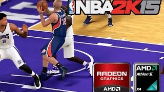 NBA 2K15 PC - AMD Radeon HD 5770 - Athlon II X4 640 - low settings
