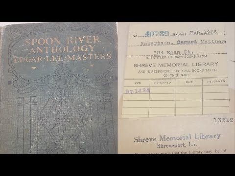 Ken Holiday - A Book returned to a library 84 years late.