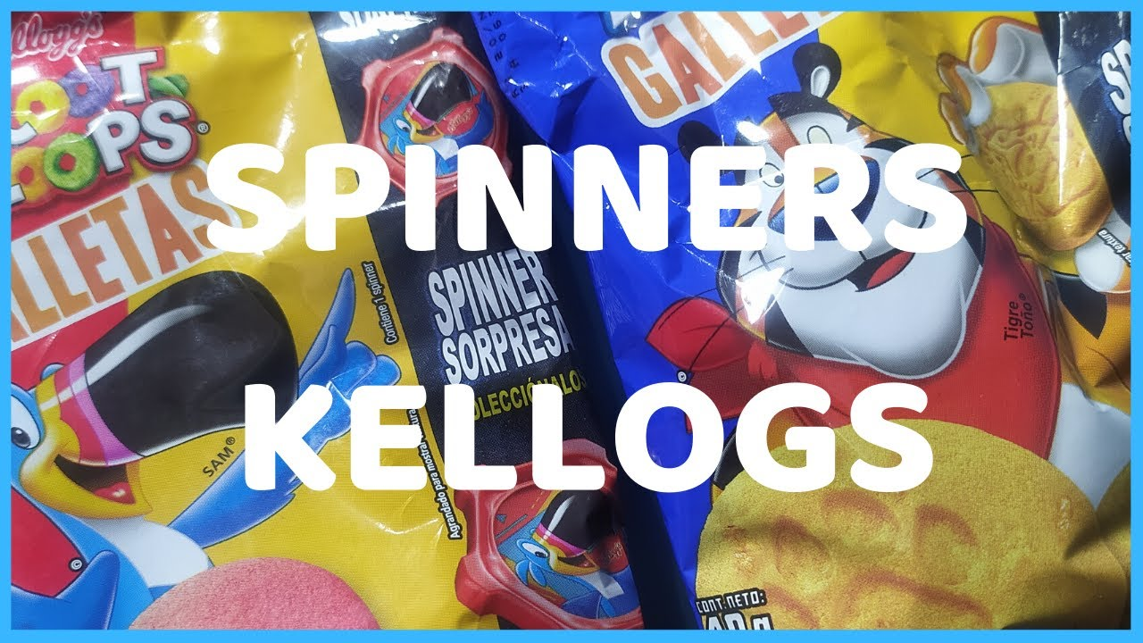 GALLETAS KELLOGS   SPINNERS
